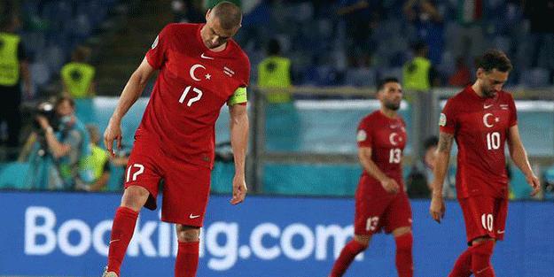 İtalya ve Galler'e yenilen A Milli Takım futbolcularından açıklama