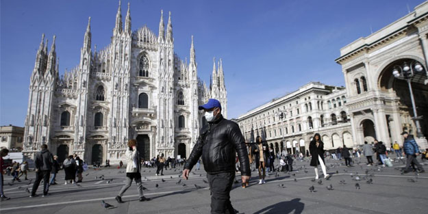 İtalya'da koronavirüsten ölenlerin sayısı 35 bin 738'e ulaştı