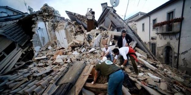 İtalya'daki depremde ölü sayısı yükseldi!