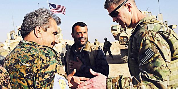 İtiraf ettiler! YPG/PKK, ABD'nin tasmalı köpeği