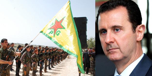 İttifakı dünyaya duyurdular! YPG ve Esed resmen itiraf etti! Türkiye'ye karşı...