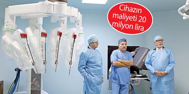 İÜ'de robotik cerrahi dönemi