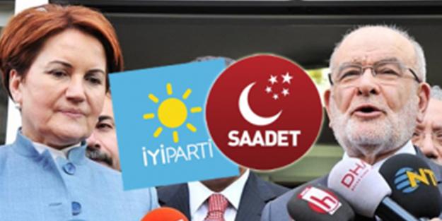 İYİ Parti'den 'ittifak' açıklaması: Saadet Partisi ile anlaştık!