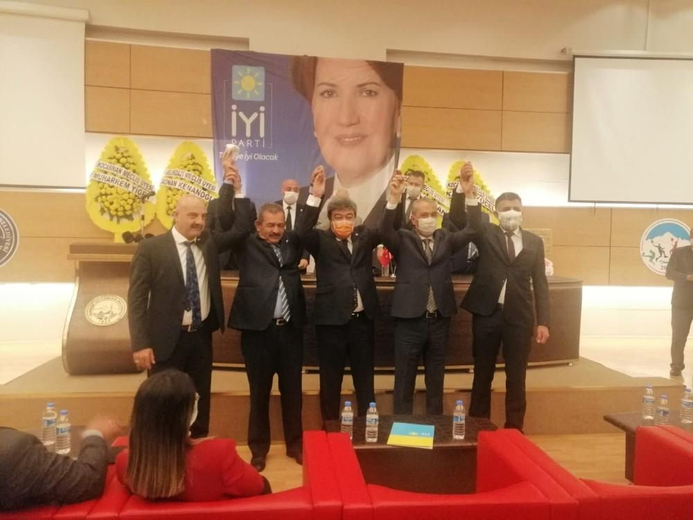 İYİ Parti Kocasinan İlçe Başkanlığı'nda kongre heyecanı