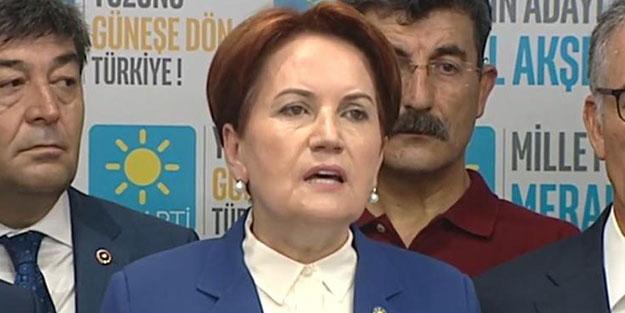 İYİ Parti'de kritik toplantı! Akşener'den flaş açıklamalar