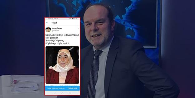 İYİ Partili Levent Özeren'den Semiha Yıldırım'a çirkin sözler