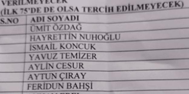 İYİ Parti'yi karıştıran liste! İl başkanından tartışmaları alevlendirecek itiraf