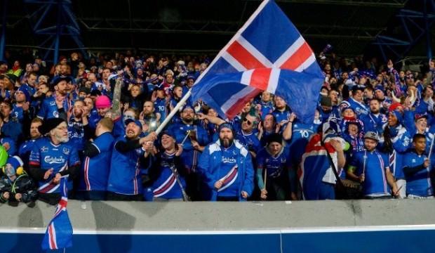 İzlanda'nın neredeyse tamamı maçı izledi