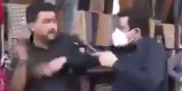 İzlenme rekorları kırdı! Muhabir maske takmayanları tokatladı