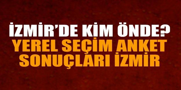 İzmir anket sonuçları 2019 yerel seçim İzmir'i kim kazanır? Yerel seçim sonuçları 2019 İzmir