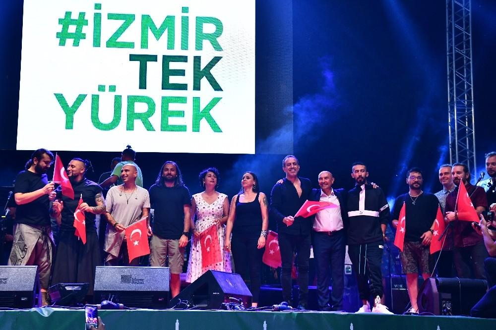 İzmir, orman yangınlarına karşı tek yürek