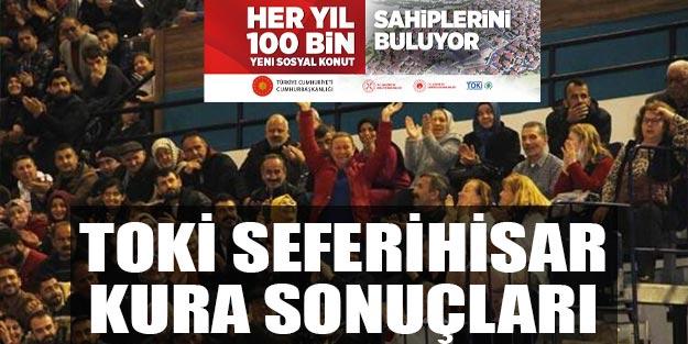 İzmir Seferihisar 2+1 ve 3+1 TOKİ kura sonuçları isim listesi