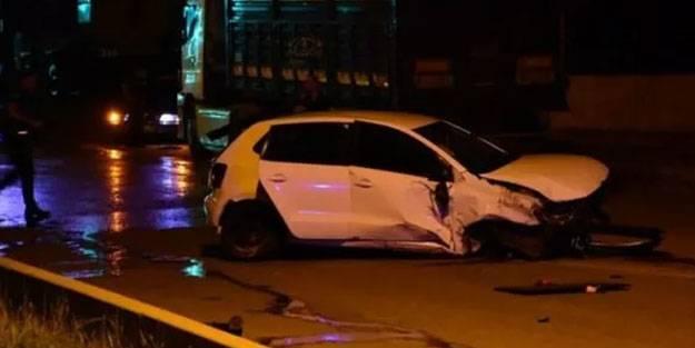 İzmir'de feci kaza: Bir ölü bir yaralı