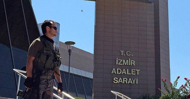 İzmir'de 'Kaçma ihtimalim yok' diyen sanık duruşma salonundan kaçtı