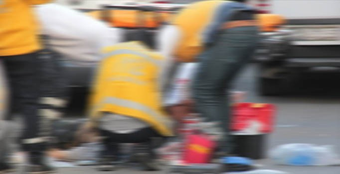 İzmir'de trafik kazası: 1 kişi öldü