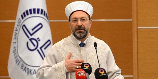 Ali Erbaş: İşte namahrem eli bizim minarelerimize değmiş oldu