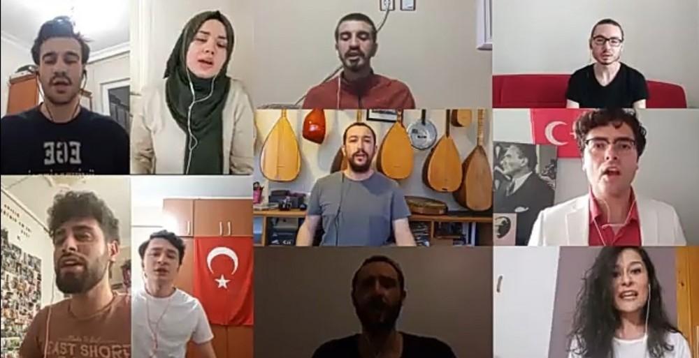 İzmit Belediyesi Gençlik Korosu'ndan 19 Mayıs'a özel klip