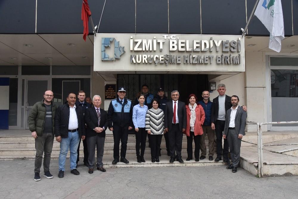 İzmit Belediyesi Kuruçeşme'ye, zabıta amirliği kurdu