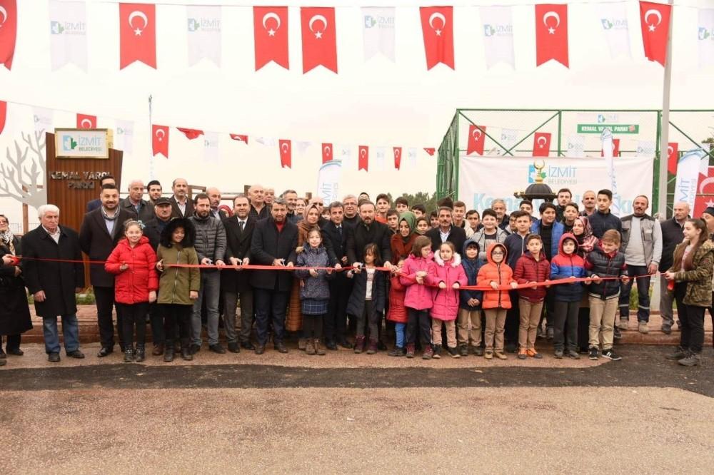 İzmit'e bir park daha açıldı