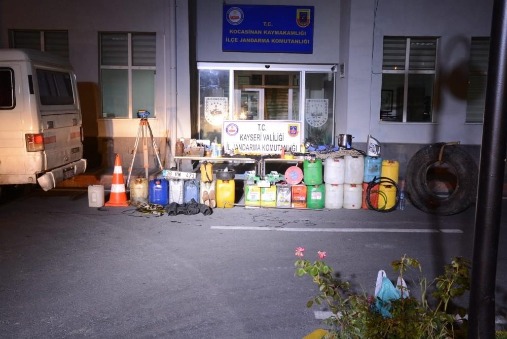 Jandarma 6 faili meçhul hırsızlık olayını aydınlattı