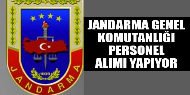 Jandarma Genel Komutanlığı alımı başvurusu