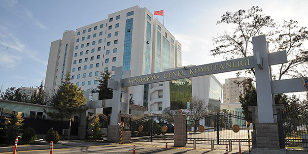 JANDARMA GENEL KOMUTANLIĞINA OPERASYON!