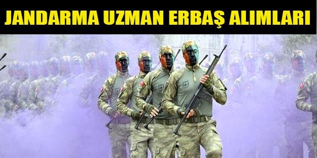 Jandarma uzman erbaş alım başvuruları