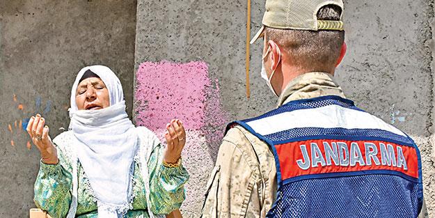 Jandarma'nın 'Kürtçe Vefa'sı dua alıyor