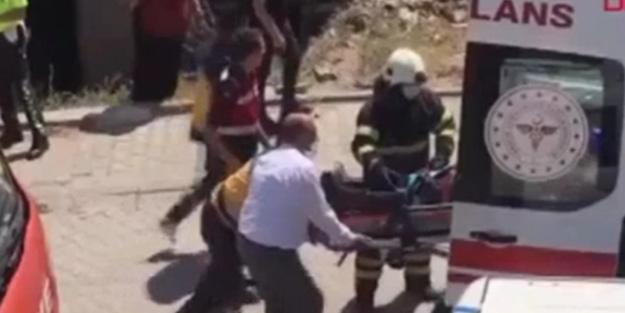 Jandarmayı taşıyan minibüs ile otomobil birbirine girdi! Yaralılar var