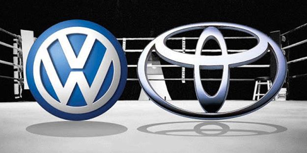Bunu beklemiyordu! Toyota'dan Volkswagen'e büyük şok