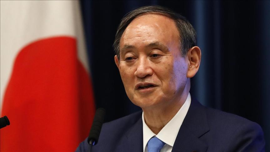 Japonya Başbakanı Suga, Kuzey Kore'nin füze denemelerinin, ülkesinin güvenliğini tehdit ettiğini açıkladı
