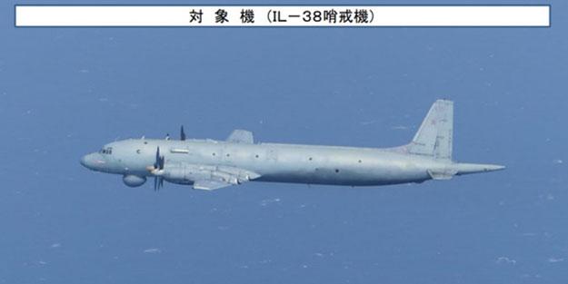 Japonya Rus uçağını engelledi!