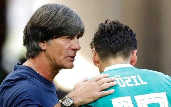 Joachim Löw'den Mesut Özil için sitem dolu sözler!