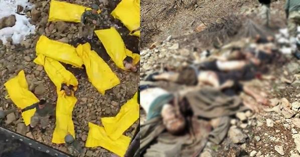 JÖH'lerin öldürdüğü teröristler PKK'nın özel timi çıktı!