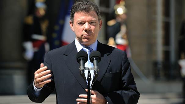 Juan Manuel Santos: Dostumuz Erdoğan'a şükranlarımı sunuyorum