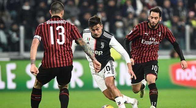 Juventus Milan maçı kaç kaç bitti?