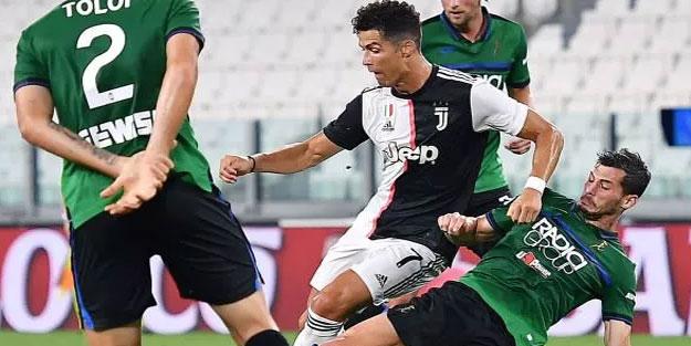 Juventus son dakikada bir puanı kazandı