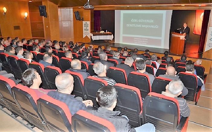 KAAN projesi, Aydın'da kolluk ve özel güvenlik personellerine anlatıldı
