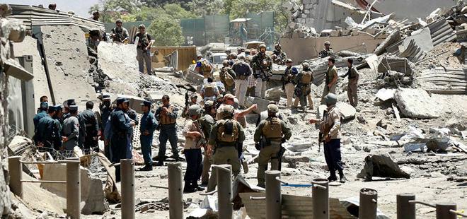 Kabil'de bombalı saldırı! 100 ölü 300 yaralı