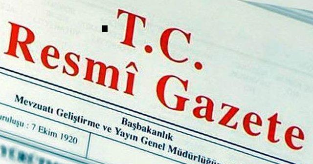 Kabine değişikliği Resmi Gazete'de yayımlandı