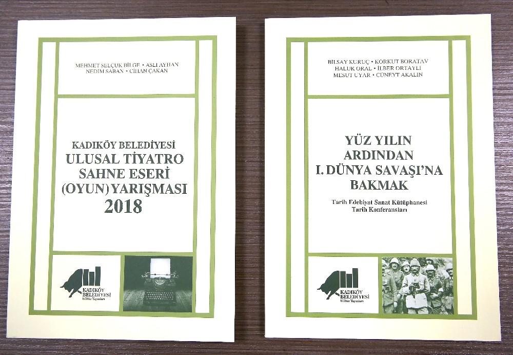Kadıköy Belediyesi Kültür Yayınlarından çıkan iki yeni kitap raflarda yerini aldı