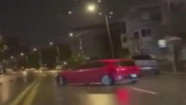 Kadıköy'de trafikte terör estiren maganda yakalandı