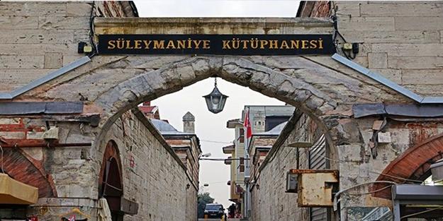 Kadim kültür menbaı: Süleymaniye Kütüphanesi