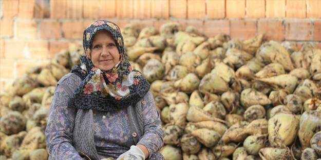Kadın çiftçiler topraklarını bırakmıyor!