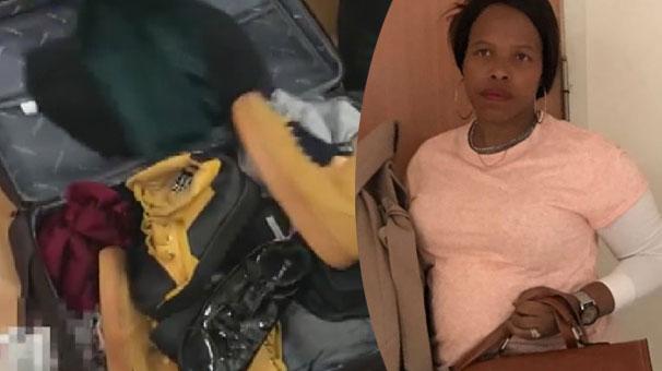 Kadın doktor, uyuşturucu kuryesi çıktı