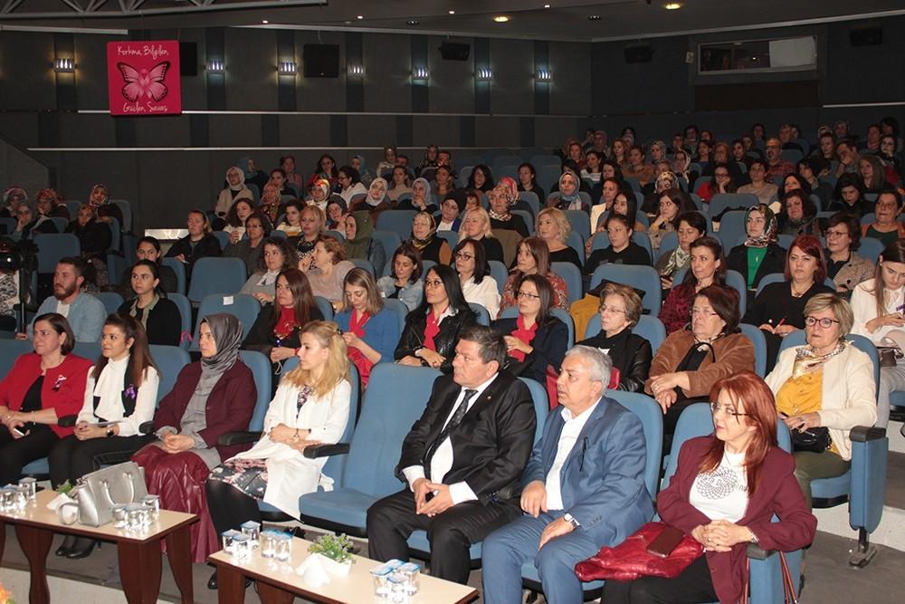 Kadın girişimcilerden kansere karşı farkındalık semineri