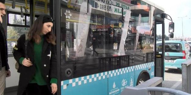 Kadın yolcuya skandal sözler: İnmezsen seni tek başına Hadımköy'e götürüp...
