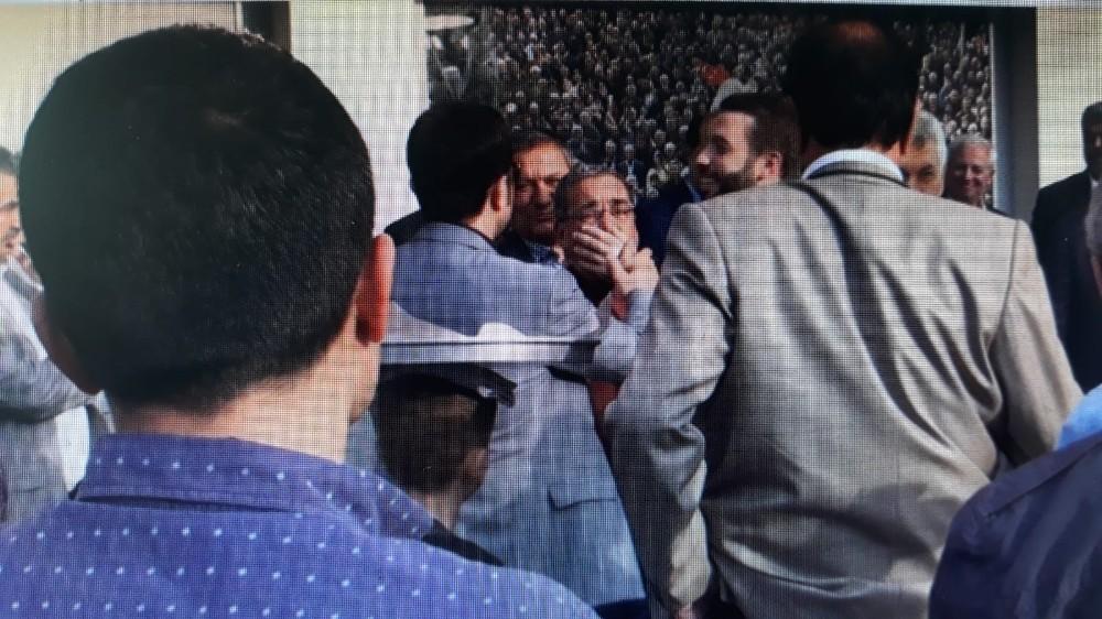 Kadir Aydar'ın yanında Cumhurbaşkanı'na hakaret eden şahıs gözaltına alındı