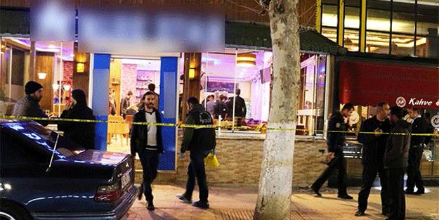Kafede silahlı çatışma! Ölü ve yaralılar var…