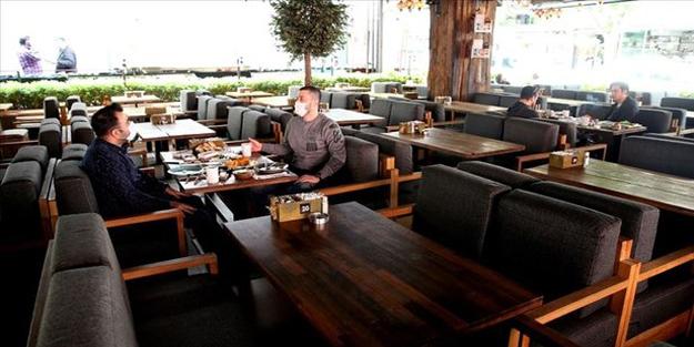 Kafeler, restoranlar ve lokantalar müşteri almaya başlayacak mı?